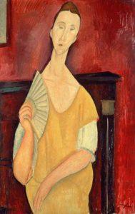 Modigliani-listeia